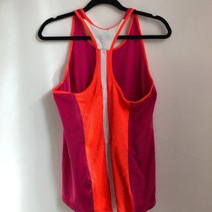 Nike Dri-Fit Pink and Orange Racerback Tank
